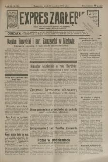 Expres Zagłębia : jedyny organ demokratyczny niezależny woj. kieleckiego. R.9, nr 266 (28 września 1934)
