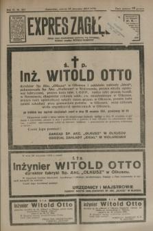 Expres Zagłębia : jedyny organ demokratyczny niezależny woj. kieleckiego. R.9, nr 267 (29 września 1934)