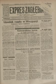 Expres Zagłębia : jedyny organ demokratyczny niezależny woj. kieleckiego. R.9, nr 272 (4 października 1934)