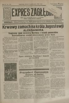 Expres Zagłębia : jedyny organ demokratyczny niezależny woj. kieleckiego. R.9, nr 278 (10 października 1934)