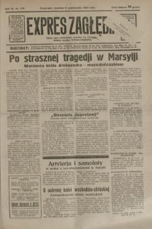Expres Zagłębia : jedyny organ demokratyczny niezależny woj. kieleckiego. R.9, nr 279 (11 października 1934)