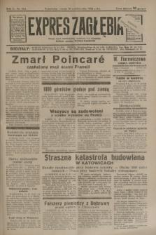 Expres Zagłębia : jedyny organ demokratyczny niezależny woj. kieleckiego. R.9, nr 284 (16 października 1934)
