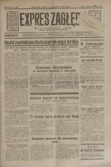 Expres Zagłębia : jedyny organ demokratyczny niezależny woj. kieleckiego. R.9, nr 285 (17 października 1934)