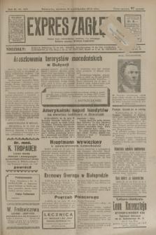 Expres Zagłębia : jedyny organ demokratyczny niezależny woj. kieleckiego. R.9, nr 289 (21 października 1934)