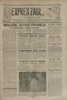 Expres Zagłębia : jedyny organ demokratyczny niezależny woj. kieleckiego. R.9, nr 302 (3 listopada 1934)