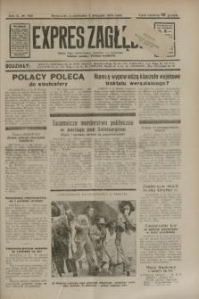 Expres Zagłębia : jedyny organ demokratyczny niezależny woj. kieleckiego. R.9, nr 304 (5 listopada 1934)
