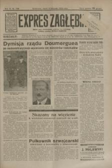 Expres Zagłębia : jedyny organ demokratyczny niezależny woj. kieleckiego. R.9, nr 308 (9 listopada 1934)