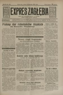 Expres Zagłębia : jedyny organ demokratyczny niezależny woj. kieleckiego. R.9, nr 309 (10 listopada 1934)