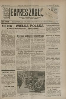 Expres Zagłębia : jedyny organ demokratyczny niezależny woj. kieleckiego. R.9, nr 313 (14 listopada 1934)