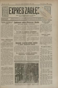 Expres Zagłębia : jedyny organ demokratyczny niezależny woj. kieleckiego. R.9, nr 315 (16 listopada 1934)