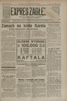 Expres Zagłębia : jedyny organ demokratyczny niezależny woj. kieleckiego. R.9, nr 316 (17 listopada 1934)