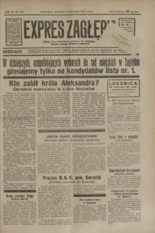 Expres Zagłębia : jedyny organ demokratyczny niezależny woj. kieleckiego. R.9, nr 317 (18 listopada 1934)