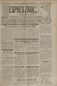 Expres Zagłębia : jedyny organ demokratyczny niezależny woj. kieleckiego. R.9, nr 318 (19 listopada 1934)