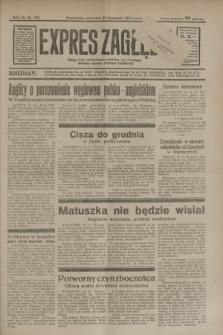 Expres Zagłębia : jedyny organ demokratyczny niezależny woj. kieleckiego. R.9, nr 321 (22 listopada 1934)