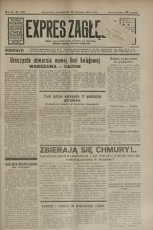Expres Zagłębia : jedyny organ demokratyczny niezależny woj. kieleckiego. R.9, nr 325 (26 listopada 1934)