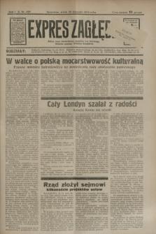 Expres Zagłębia : jedyny organ demokratyczny niezależny woj. kieleckiego. R.9, nr 329 (30 listopada 1934)