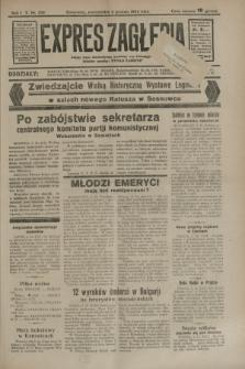 Expres Zagłębia : jedyny organ demokratyczny niezależny woj. kieleckiego. R.9, nr 332 (3 grudnia 1934)