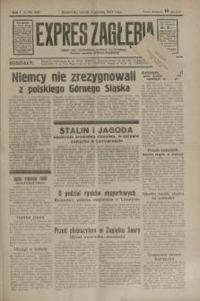 Expres Zagłębia : jedyny organ demokratyczny niezależny woj. kieleckiego. R.9, nr 333 (4 grudnia 1934)