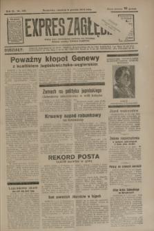 Expres Zagłębia : jedyny organ demokratyczny niezależny woj. kieleckiego. R.9, nr 335 (6 grudnia 1934)
