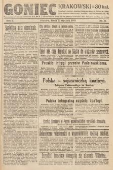 Goniec Krakowski. 1919, nr18
