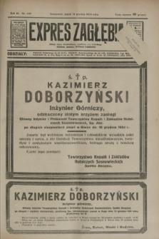 Expres Zagłębia : jedyny organ demokratyczny niezależny woj. kieleckiego. R.9, nr 349 (21 grudnia 1934)