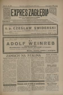 Expres Zagłębia : jedyny organ demokratyczny niezależny woj. kieleckiego. R.9, nr 353 (28 grudnia 1934)