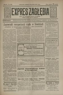 Expres Zagłębia : jedyny organ demokratyczny niezależny woj. kieleckiego. R.9, nr 355 (30 grudnia 1934)