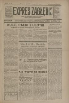 Expres Zagłębia : jedyny organ demokratyczny niezależny woj. kieleckiego. R.10, nr 6 (6 stycznia 1935)