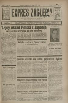 Expres Zagłębia : jedyny organ demokratyczny niezależny woj. kieleckiego. R.10, nr 54 (24 lutego 1935)