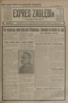 Expres Zagłębia : jedyny organ demokratyczny niezależny woj. kieleckiego. R.10, nr 132 (15 maja 1935)