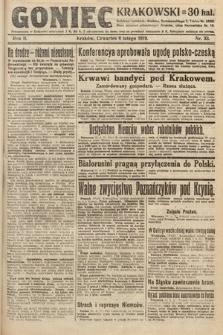 Goniec Krakowski. 1919, nr33