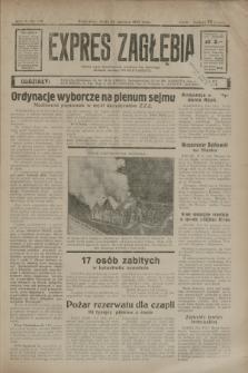 Expres Zagłębia : jedyny organ demokratyczny niezależny woj. kieleckiego. R.10, nr 172 (26 czerwca 1935)