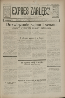 Expres Zagłębia : jedyny organ demokratyczny niezależny woj. kieleckiego. R.10, nr 186 (11 lipca 1935)