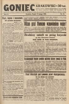 Goniec Krakowski. 1919, nr41