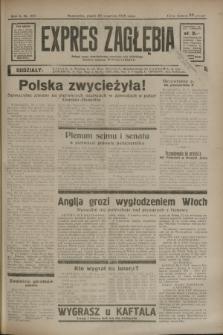 Expres Zagłębia : jedyny organ demokratyczny niezależny woj. kieleckiego. R.10, nr 257 (20 września 1935)