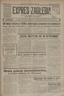 Expres Zagłębia : jedyny organ demokratyczny niezależny woj. kieleckiego. R.10, nr 334 (7 grudnia 1935)