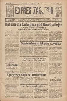 Expres Zagłębia : jedyny organ demokratyczny niezależny woj. kieleckiego. R.11, nr 8 (9 stycznia 1936)