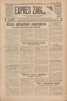 Expres Zagłębia : jedyny organ demokratyczny niezależny woj. kieleckiego. R.11, nr 19 (20 stycznia 1936)