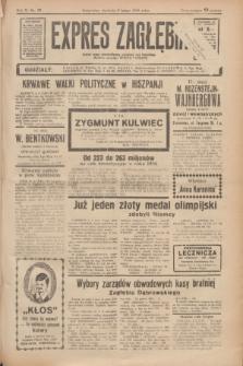 Expres Zagłębia : jedyny organ demokratyczny niezależny woj. kieleckiego. R.11, nr 39 (9 lutego 1936)