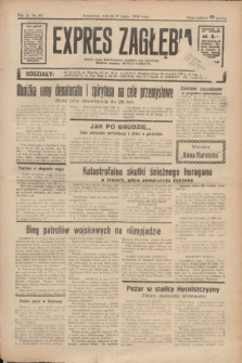 Expres Zagłębia : jedyny organ demokratyczny niezależny woj. kieleckiego. R.11, nr 45 (15 lutego 1936)