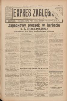 Expres Zagłębia : jedyny organ demokratyczny niezależny woj. kieleckiego. R.11, nr 85 (26 marca 1936)