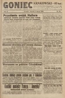 Goniec Krakowski. 1919, nr66