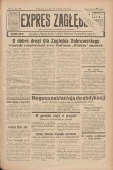 Expres Zagłębia : jedyny organ demokratyczny niezależny woj. kieleckiego. R.11, nr 104 (16 kwietnia 1936)