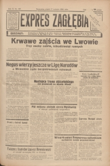 Expres Zagłębia : jedyny organ demokratyczny niezależny woj. kieleckiego. R.11, nr 105 (17 kwietnia 1936)