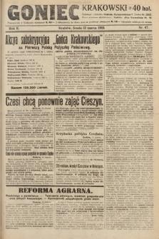 Goniec Krakowski. 1919, nr67