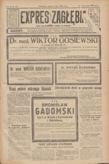 Expres Zagłębia : jedyny organ demokratyczny niezależny woj. kieleckiego. R.11, nr 187 (10 lipca 1936)
