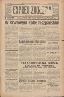 Expres Zagłębia : jedyny organ demokratyczny niezależny woj. kieleckiego. R.11, nr 207 (30 lipca 1936)
