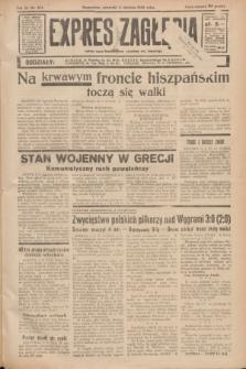 Expres Zagłębia : jedyny organ demokratyczny niezależny woj. kieleckiego. R.11, nr 214 (6 sierpnia 1936)