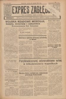 Expres Zagłębia : jedyny organ demokratyczny niezależny woj. kieleckiego. R.11, nr 227 (20 sierpnia 1936)