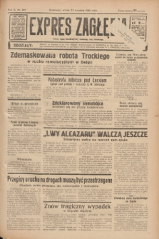 Expres Zagłębia : jedyny organ demokratyczny niezależny woj. kieleckiego. R.11, nr 260 (22 września 1936)